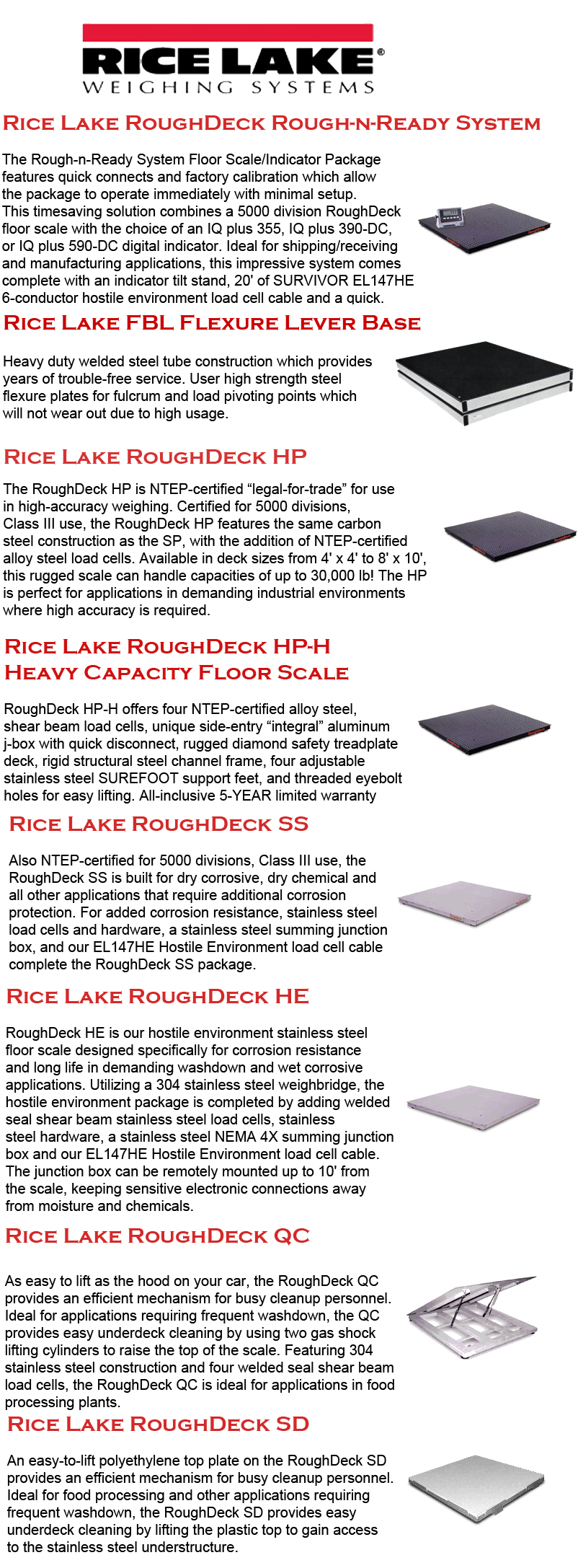 rice lake floor scales